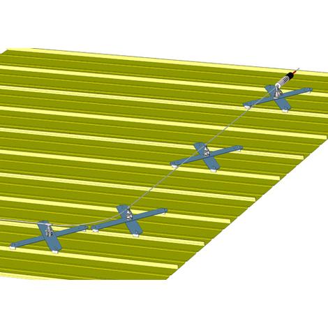 Ligne de vie - Fixation sur joint debout (plusieurs tailles disponibles)