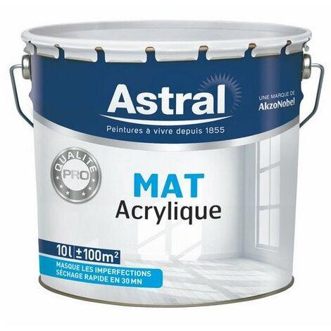 Ligne Pro Bi-Couche Acryl Mat 10l - ASTRAL