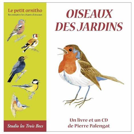 LIivre CD les oiseaux du jardin