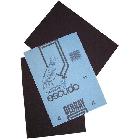 Lija Tela Esmeril Escudo G70 - DEBRAY - N.1 1/2 - 280X230 MM..
