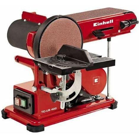 Lijadora de cinta y disco Einhell TC-US 400 - 375W - 100 x 914mm