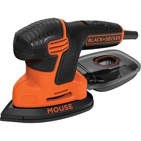 Lijadora de Detalle Mouse® 120W Incluye deposito de policarbonato para extracción de polvo (KA200-QS) BLACK&DECKER