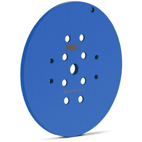 Lijadora de disco Disco lija Diámetro 250 mm 16 segmentos de lijado