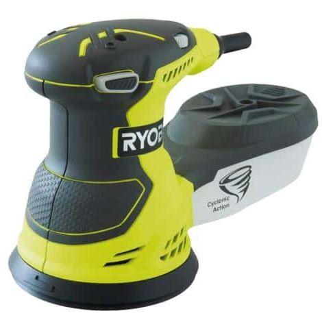 Lijadora eléctrica excéntrica RYOBI 300W 125mm ROS300