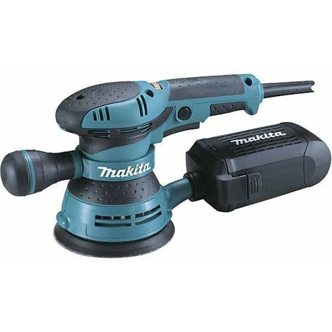 Lijadora excéntrica Makita BO5041J en Mbox - 300W - 125mm - variable