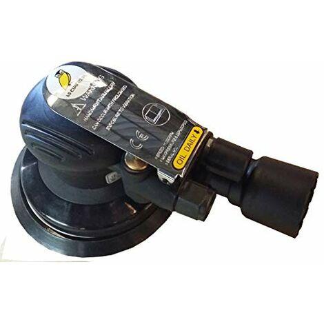 Lijadora Neumática Orbital SM 65-6133 C - Disco 120 mm - Aspiración - 0,80 Kilos - 12.000 r.p.m. - Baja Intensidad de Ruido: 76 dB