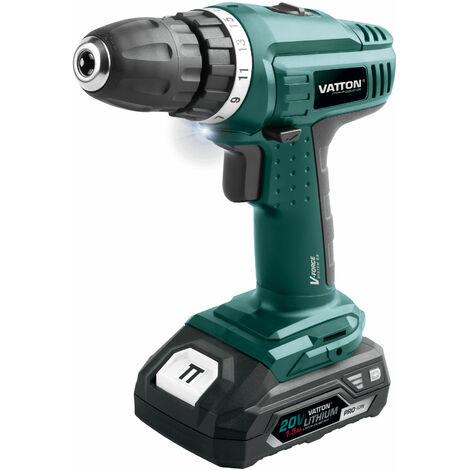 Lijadora Vatton excéntrica 125mm 20v sin batería, uso profesional, alta calidad