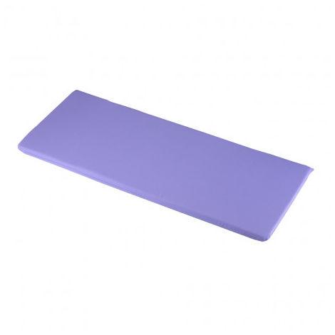 Lilac 2 Seater Bench Cushions 116 x 46 x 4cm