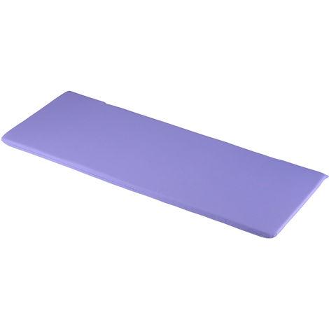 Lilac 3 Seater Bench Cushions 141 x 48 x 4cm