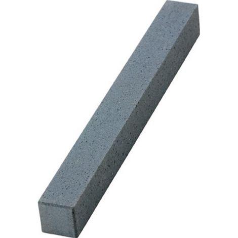 Lima abrasiva de carburo de silicio, cuadrada, dimensiones : 10 x 100 mm, Grano 220