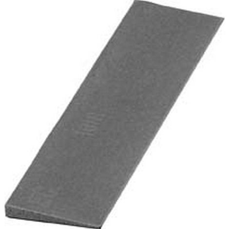 Lima abrasiva de carburo de silicio, forma en hoja de cuchillo, dimensiones : 25 x 3/1 x 100 mm, Grano 360