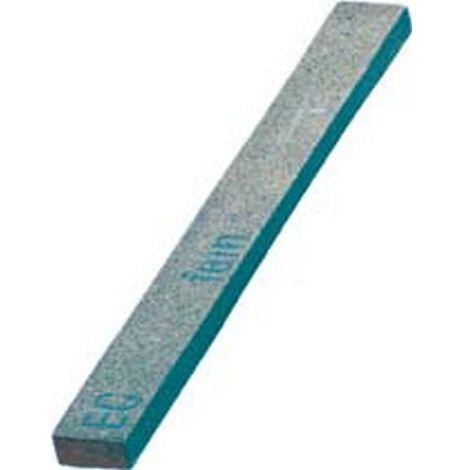 Lima abrasiva de piedra Arkansas dura, plata, dimensiones : 13 x 6 x 100 mm