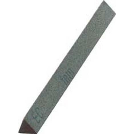 Lime abrasive en carbure de silicium, triangulaire, Dimensions : 16 x 150 mm, Grain 220
