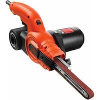 Lime électrique filaire - 350 W - 455*13 mm - Usage intermédiaire - 3 bandes abrasives - 1 bras droit 13 mm (KA900E-QS)