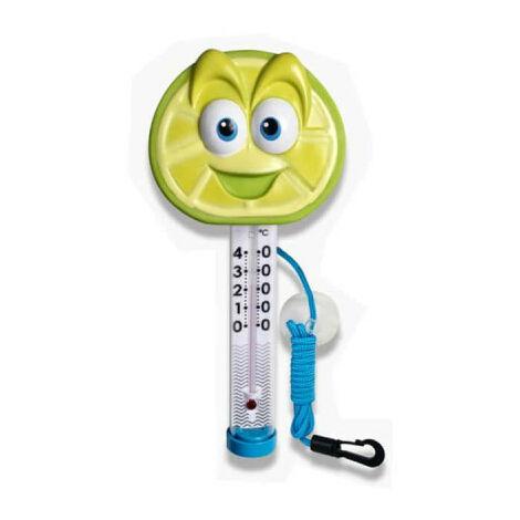 Lime thermometer tutti frutti frutti for swimming pool