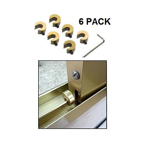 Limitador apertura ventana Pack 6 uds
