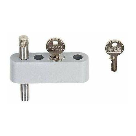 Limiteur d'ouverture DS - Épaisseur de porte 24,5 à 28 mm - anticorrosion - La croisée DS