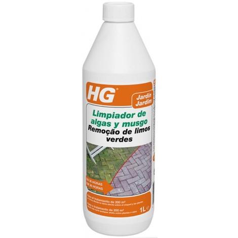 Limpiador Algas y Musgo - HG - 181100109/130 - 1 L