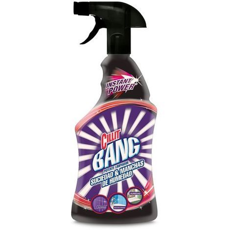 Limpiador Antisuciedad y Manchas de Humedad con Pulverizador Cillit Bang 750 ml Cantidad - x1
