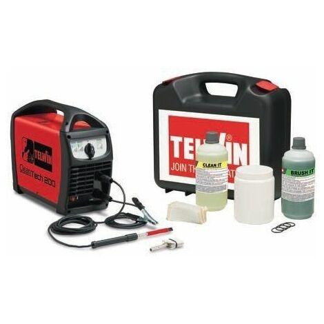 Limpiador cordones de soldadura TIG y MIG TELWIN Cleantech 200