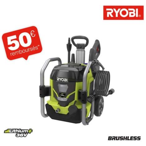 Limpiador de alta presión RYOBI 36V LithiumPlus RPW36120HI motor sin carbono