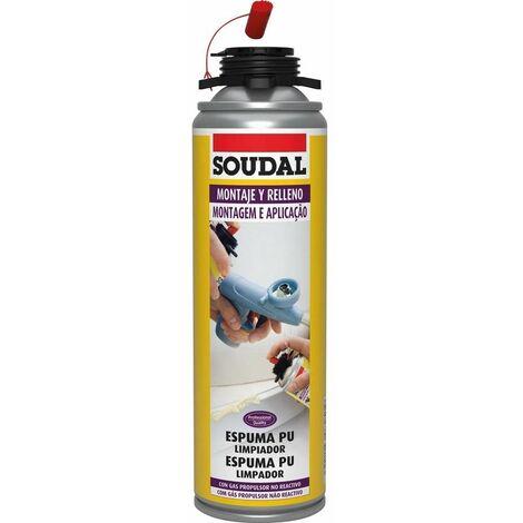 Limpiador de Espuma Poliuretano 500 ml. Soudal