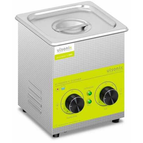 Limpiador de ultrasonidos Lavadora Ultrasónica PROCLEAN 1.3MS (60 W, 1,3 litros)