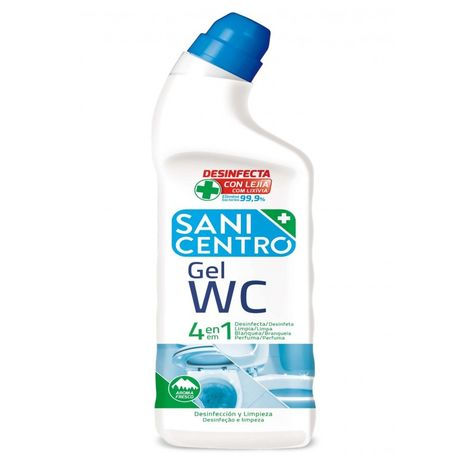 Limpiador desinfeccion wc sanicentro gel arv0878 1 lt