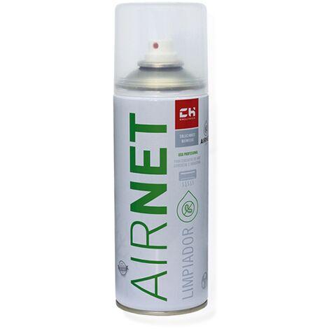 Limpiador desinfestante en spray Airnet para equipos de aire acondicionado 400ml.