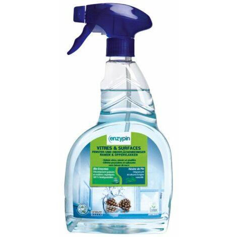 limpiador Enzypin para las ventanas y superficies de vidrio de 750 ml