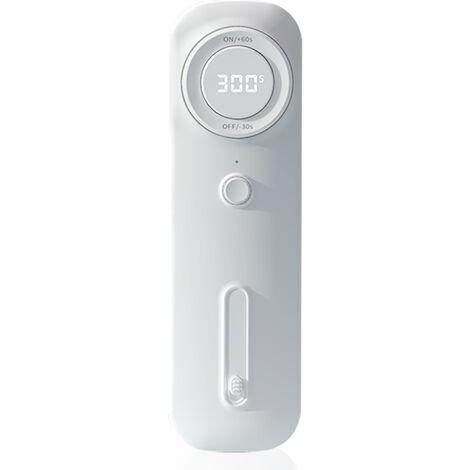 """main image of """"Limpiador portatil Luces de limpieza LED Soporte de pantalla LED Limpieza de mano y de pie para viajes Uso domestico, blanco"""""""