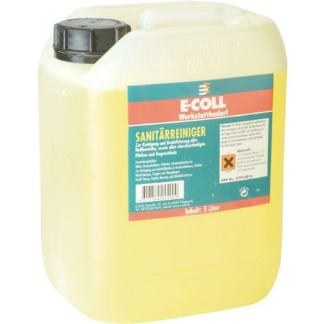 Limpiador sanitario 5L lata E-COLL