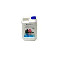 Limpiador Sanitizante especial saunas, baños de vapor, gimnasios. Producto potente contra bacterias y hongos. Botella 2 Lt.