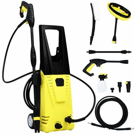 Limpiadora a presión con set de accesorios 135 Bar 1700 W 5 m