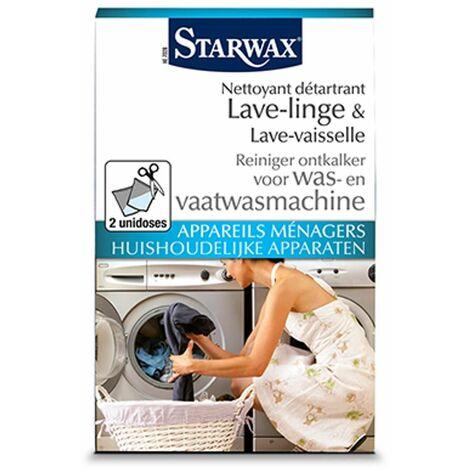 """main image of """"Limpieza de descalcificación lavadora y lavavajillas Electrodomésticos StarWax' 2 x 75 g"""""""