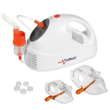 L'inalatore Promedix PR-825 Kit Nebulizzatore, maschera, filterki