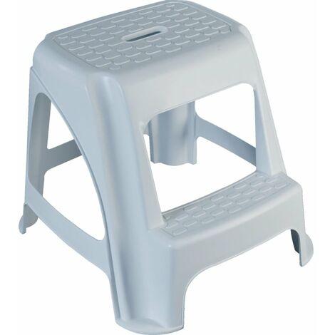 Lincoln Plastic Step Stool 480mm x 510mm x 410mm White