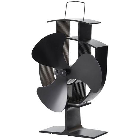 Lincsfire Blades Heat Powered Stove Fan Warm Air Circulating Eco Friendly For Wood / Log Burner / Fireplace