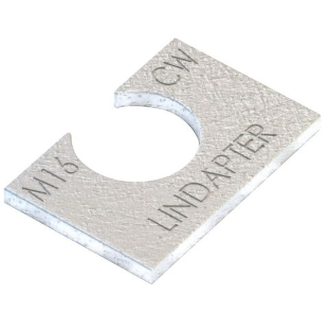 LINDAPTER Clipped washer type CW Steel Hot dip galvanized CW