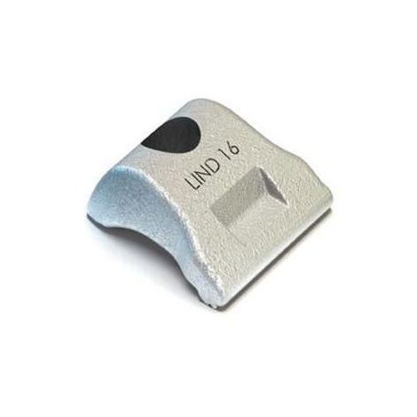 LINDAPTER Zelfinstellende eendelige klem LS Stainless steel A4