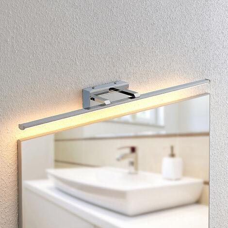 Lindby Eloni aplique LED para baño, cromo
