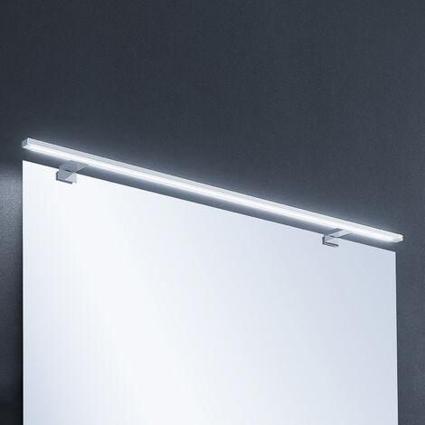 Lindby Lusano aplique LED para baño de aluminio