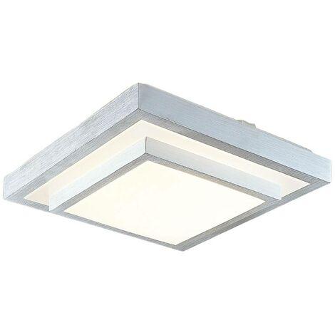 Lindby Mirco lámpara de techo LED angular 37,5 cm
