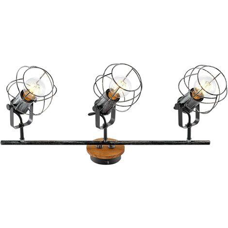 Lindby Salima foco de techo, jaulas, 3 luces