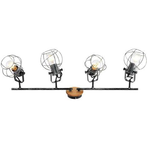 Lindby Salima foco de techo, jaulas, 4 luces