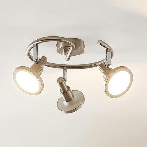 Lindby Unnur foco LED, 3 luces