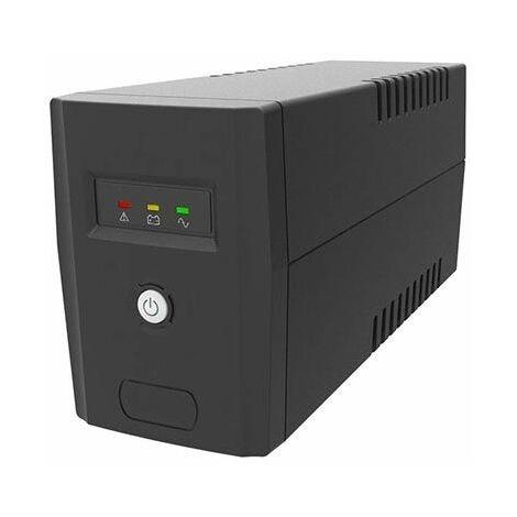Line-Interactive UPS 650VA/360W avec batterie 12V 7Ah protection de surcharge