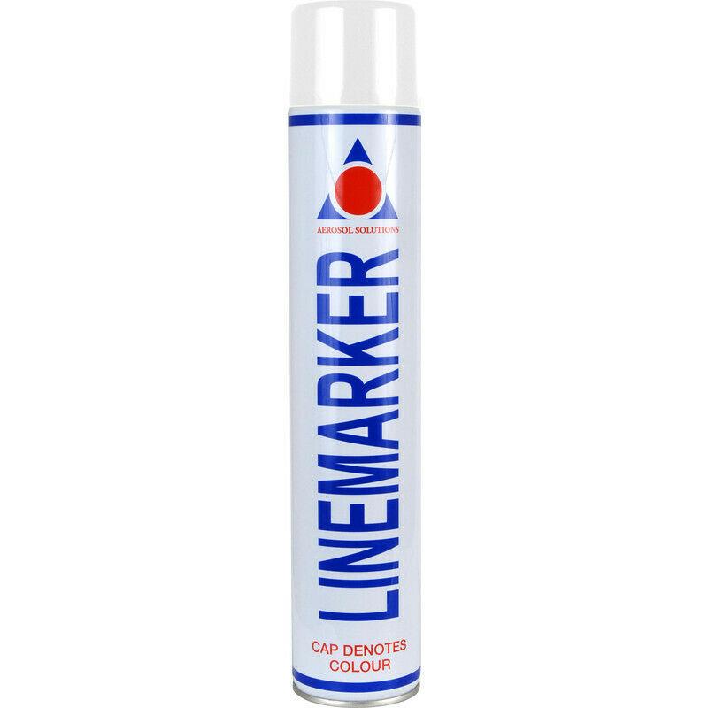 Image of Solution 0901 Line Marking Spray Paint White 750ml - Aerosol