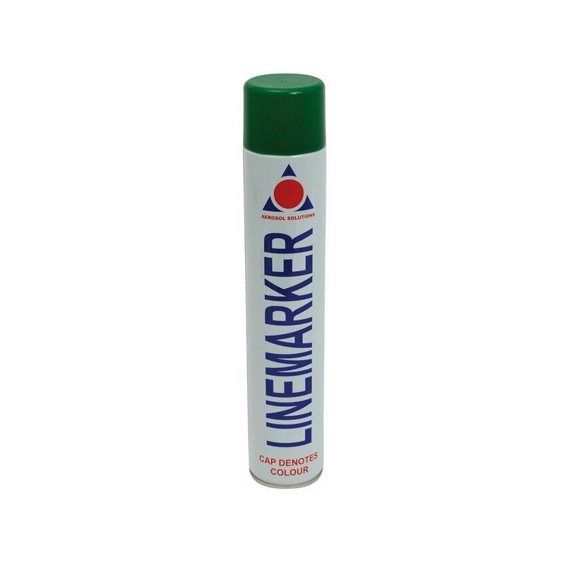 Image of 0903 Line Marking Spray Paint Green 750ml (AERLMPG)