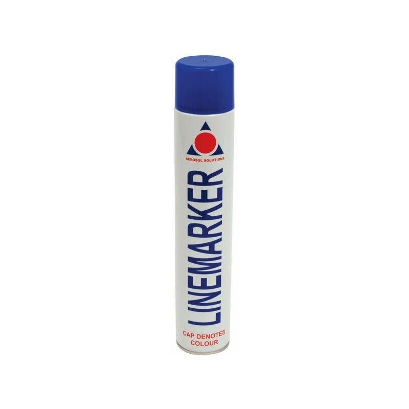 Image of 0904 Line Marking Spray Paint Blue 750ml (AERLMPB)